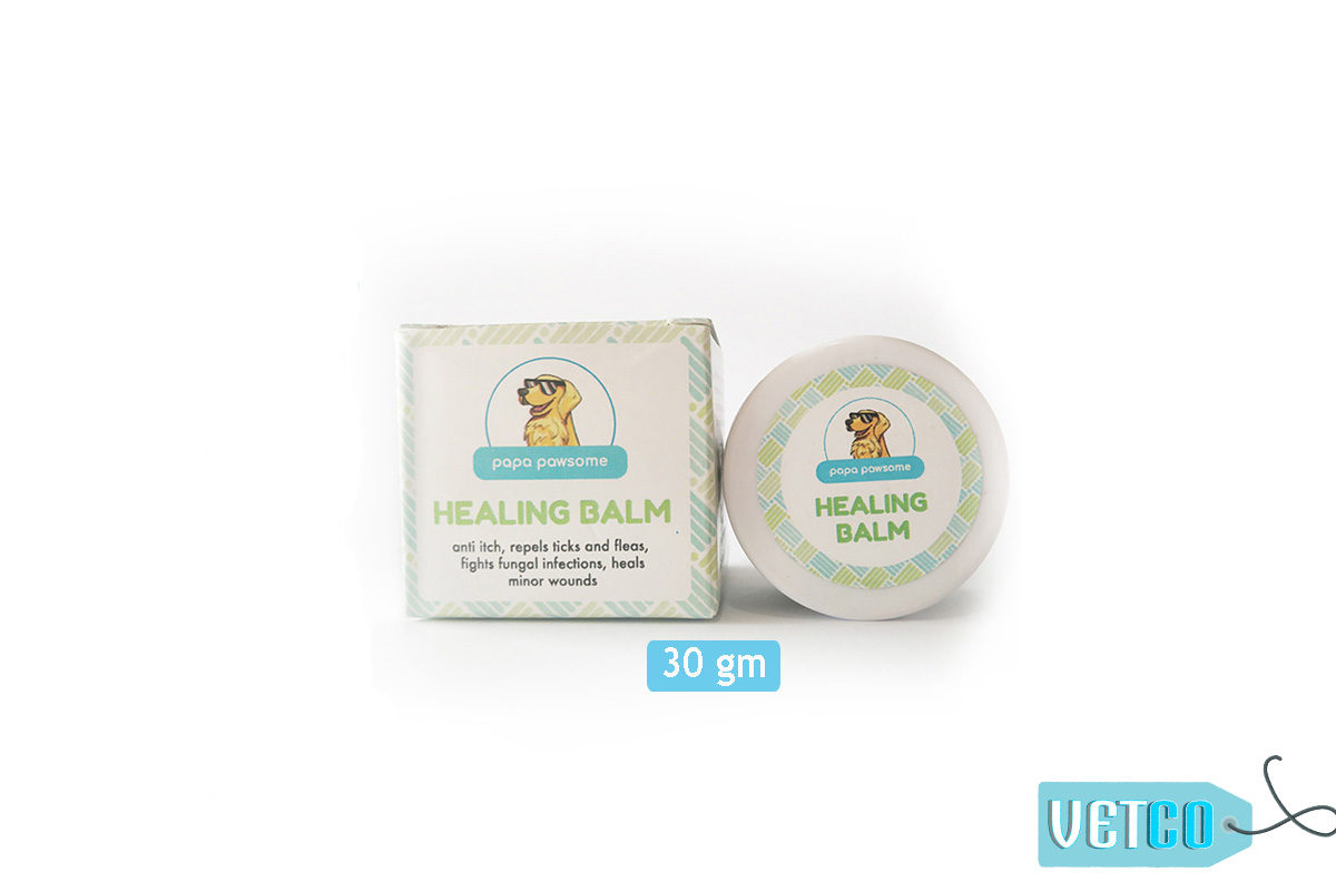 Papa Pawsome 100% Natural Healing Balm for Dogs, 30 gms