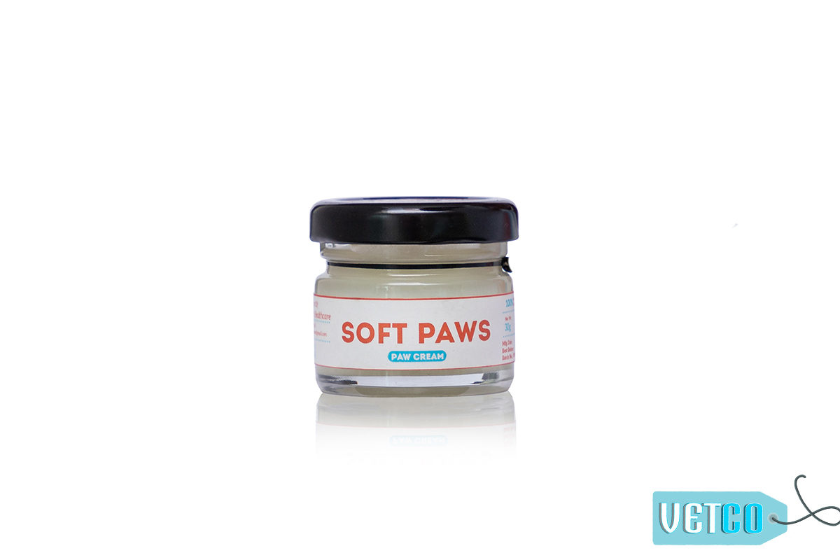 Papa Pawsome Soft Paws 100% Natural Paw Cream for Dogs, 30 gms