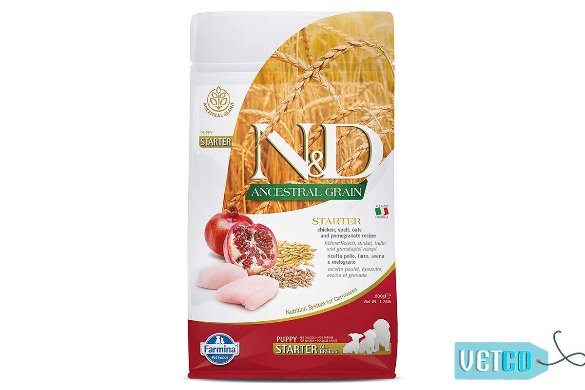 Farmina N&D Ancestral Low Grain Chicken & Pomegranate Puppy Dog Food (All Breeds)