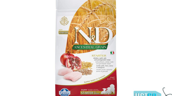 Farmina N&D Ancestral Low Grain Chicken & Pomegranate Puppy Dog Food (All Breeds)
