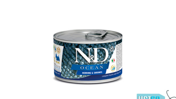 Farmina N&D Ocean Adult Wet Dog Food Herring & Shrimp (Small & Mini