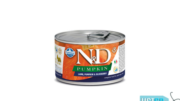 Farmina N&D Pumpkin Adult Wet Dog Food Lamb & Blueberry (Small & Mini Breeds), 140 gms