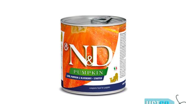 Farmina N&D Pumpkin Puppy Wet Dog Food Lamb & Blueberry (Medium & Maxi Breeds), 285 gms