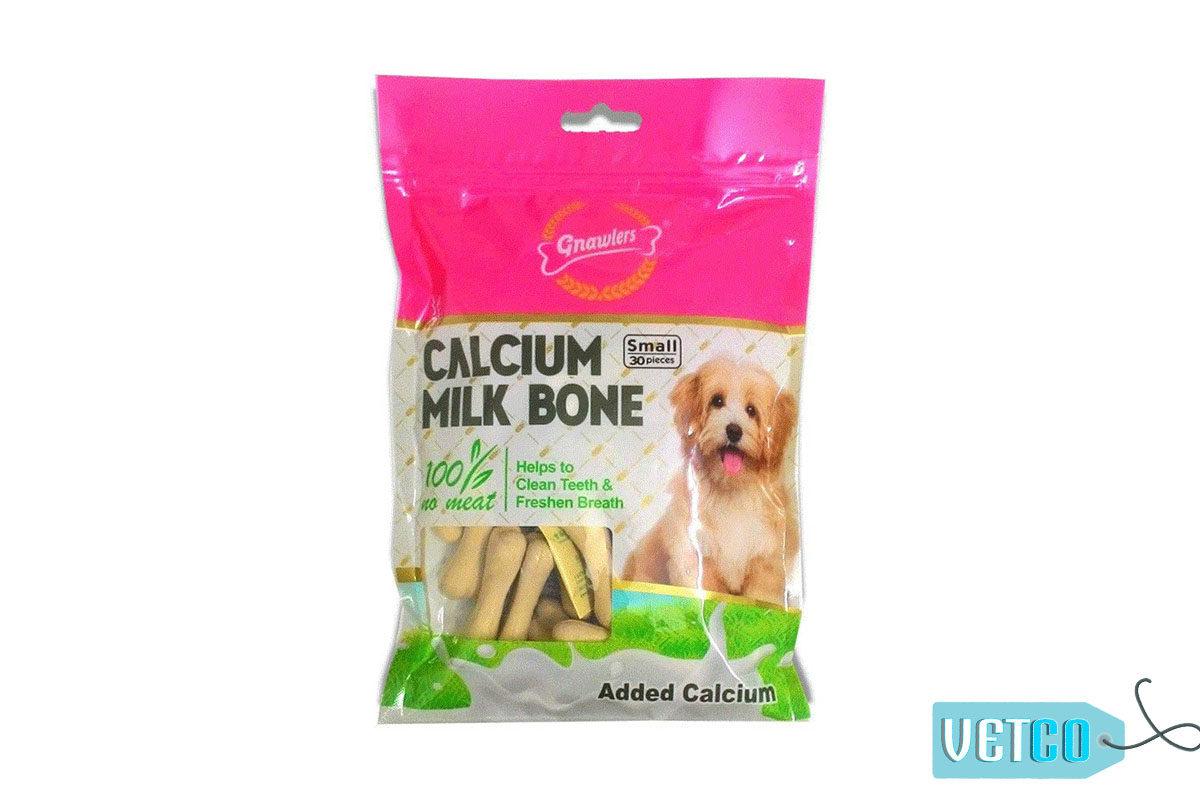 Gnawlers Calcium Milk Bones Mini Dog Treats - Small (30 Pieces), 270 gms