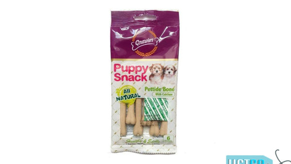 Gnawlers Pettide Bone Puppy Snack with Calcium, 40g