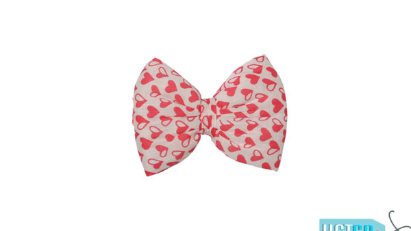 Mutt Ofcourse Little Hearts Bow Tie for Dogs