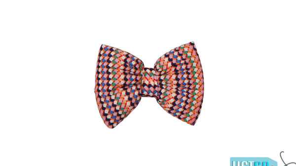 Mutt Ofcourse Toffee Bow Tie for Dogs