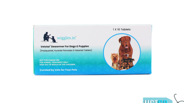 Wiggles Deworming Tablets for Dogs & Puppies (10 Tabs)