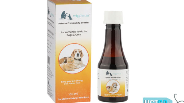 Wiggles Immunity Booster for Dogs and Cats, 100ml