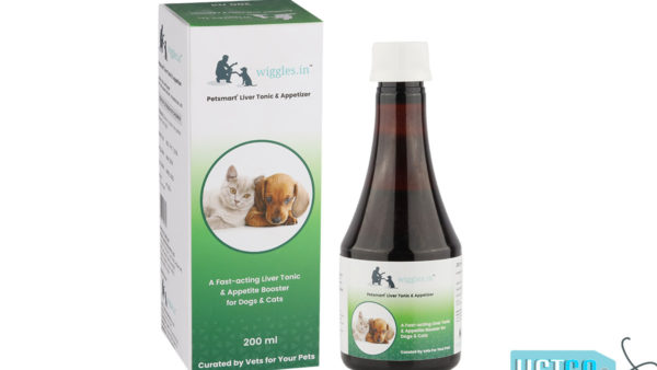 Wiggles Liver Tonic & Appetizer for Dogs and Cats, 200ml
