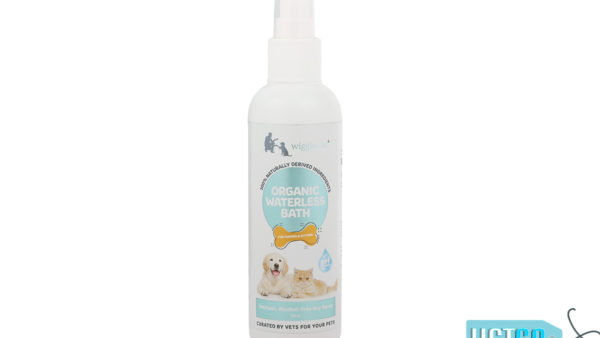 Wiggles Organic Waterless Bath for Puppies and Kittens, 200ml