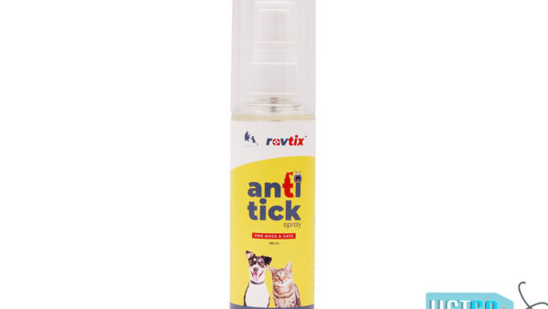 Wiggles Ravtix Anti-Tick Spray for Dogs and Cats, 100ml