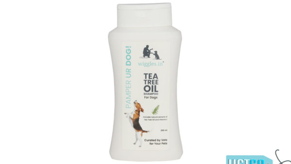 Wiggles Tea Tree Oil Shampoo for Dogs, 200ml