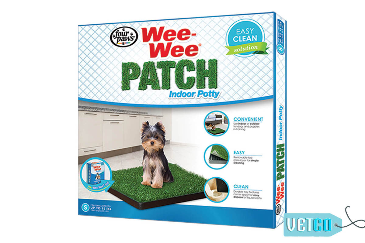 Four Paws Wee-Wee Indoor Patch Pet Potty System