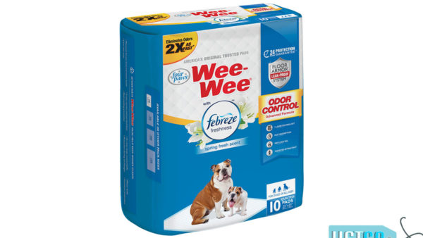 Four Paws Wee-Wee Odor Control Pads, 10 Pads