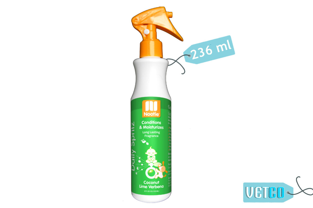 Nootie Coconut Lime Verbena Daily Spritz for Dogs, 236 ml