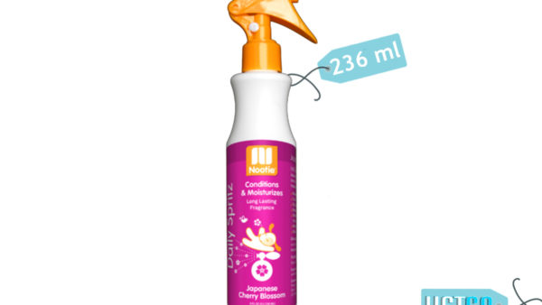 Nootie Japanese Cherry Blossom Daily Spritz for Dogs, 236 ml