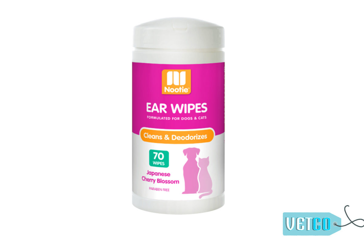 Nootie Japanese Cherry Blossom Ear Wipes, 70 count
