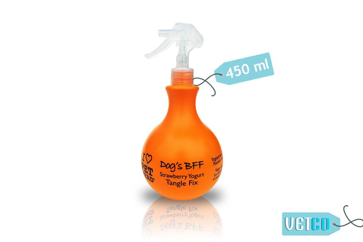 Pet Head Dog's BFF Strawberry Yoghurt Detangling Spray, 450 ml