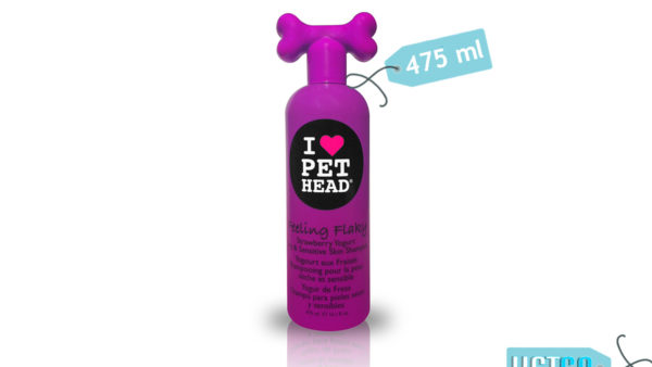 Pet Head Feeling Flaky Shampoo for Dry & Sensitive Skin, 475 ml