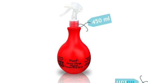 Pet Head Magical Yummy Orange Poof Deodorizing Spray, 450 ml