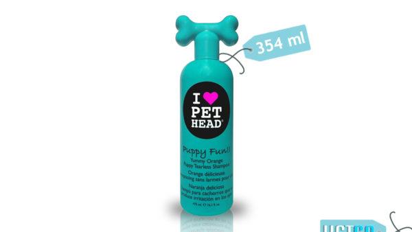 Pet Head Puppy Fun Tearless Shampoo, 354 ml
