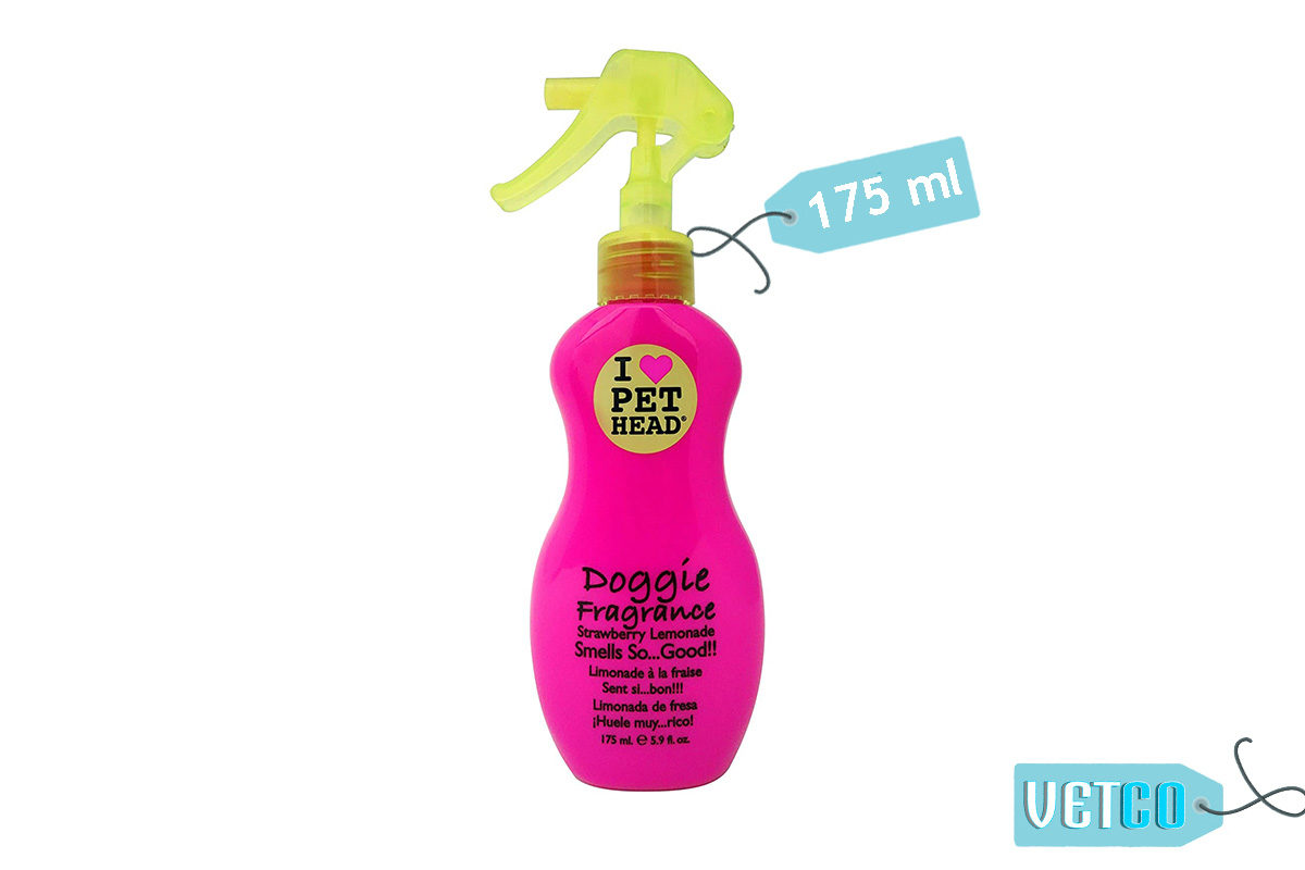 Pet Head Strawberry Lemonade Doggie Fragrance Spray, 175 ml