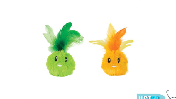 Petstages Feather Bunnyz Cat Toy (Pack of 2)