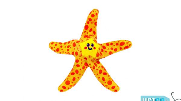 Petstages Floatiez Starfish Floating Dog Toy