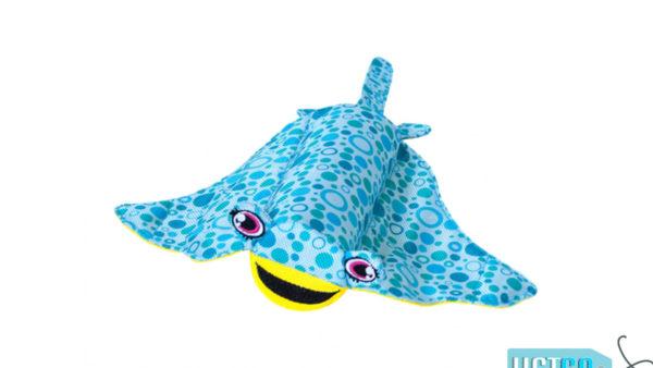 Petstages Floatiez Stingray Floating Dog Toy