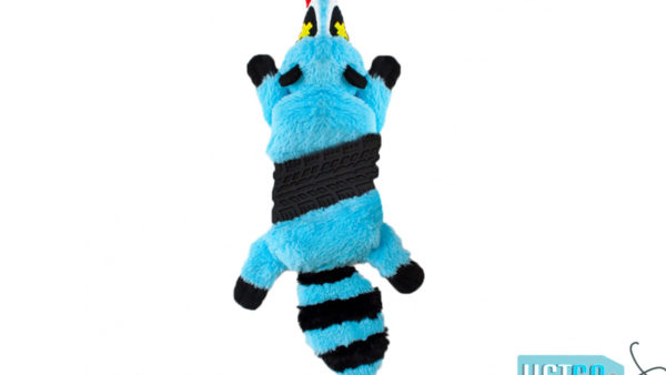Petstages Roadkillz Raccoon Dog Toy