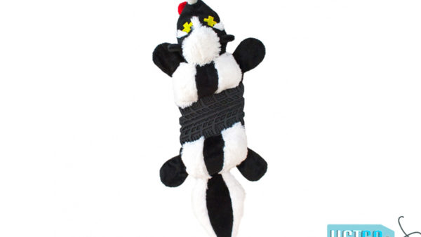 Petstages Roadkillz Skunk Dog Toy
