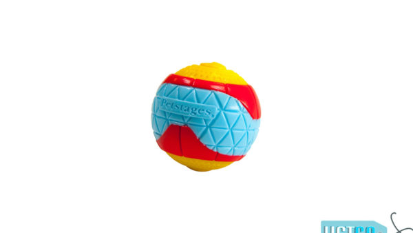 Petstages Squeakin Whistler Ball Dog Toy