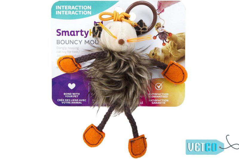 SmartyKat Bouncy Mouse Bungee Cat Toy