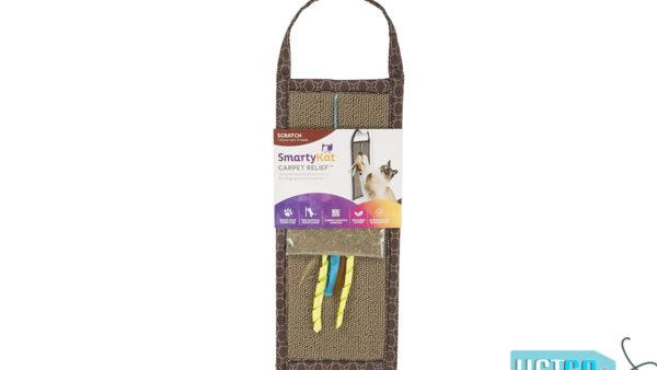 SmartyKat Carpet Relief Hanging Scratcher with Catnip