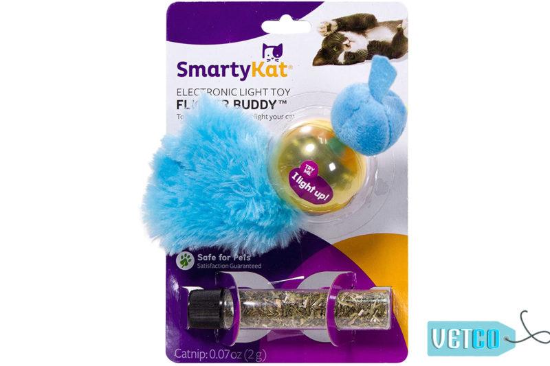 SmartyKat Flicker Buddy Electronic Light Cat Toy