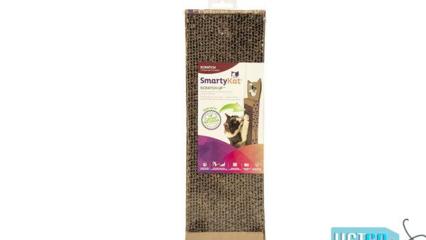 SmartyKat Scratch Up Hanging Corrugated Cat Scratcher with Catnip