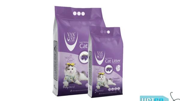 Vancat Lavender White Bentonite Clumping Cat Litter
