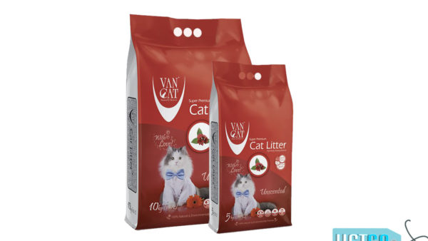 Vancat White Bentonite Clumping Cat Litter (Unscented)
