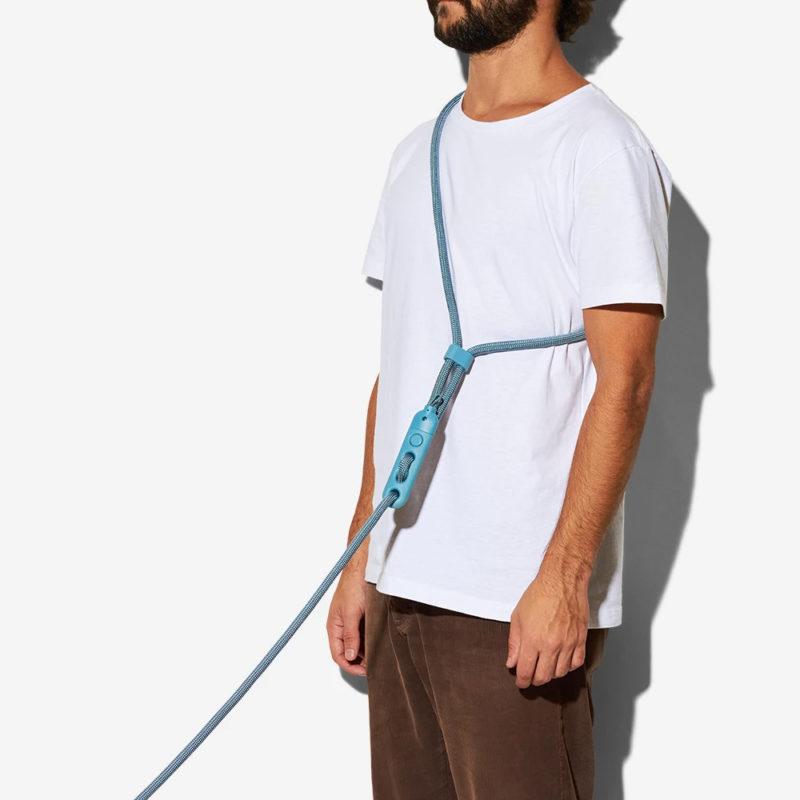 ZeeDog Blue Tech Hands-Free Dog Leash