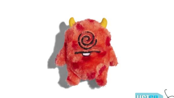 Zee.Dog Cyclops Plush Tough Dog Toy
