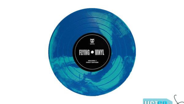 Zee.Dog Flying Vinyl Frisbee Dog Toy