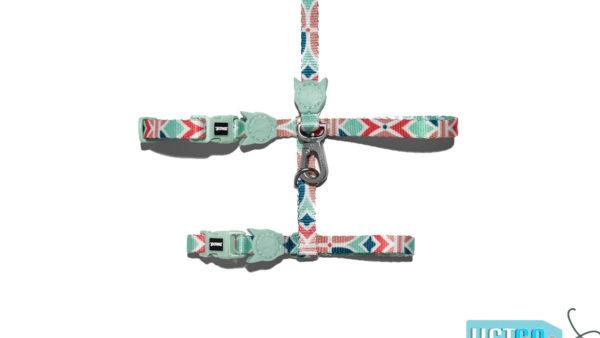Zee.Dog Marcuch Cat Leash & Harness Set