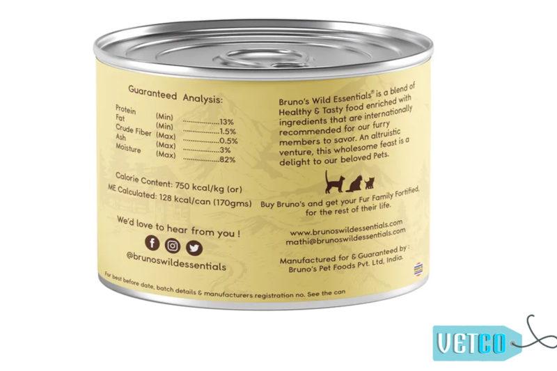 Bruno's Wild Essentials Sardine with Tuna & Pumpkin in Gravy Wet Cat Food (All Life Stages)