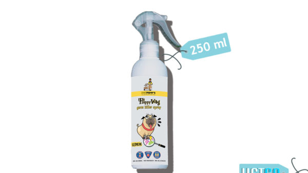 Happy Wag Germ Killer Pet Sanitizer Spray, 250ml