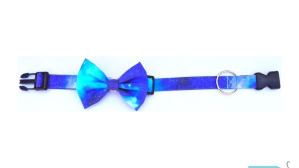 Hazel&Co Galaxy Collar & Bowtie for Dogs