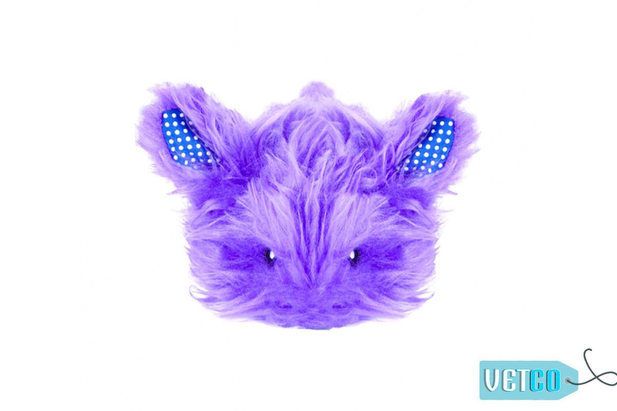 Petstages Fuzzy Bunny Nighttime Cuddle Cat Toy
