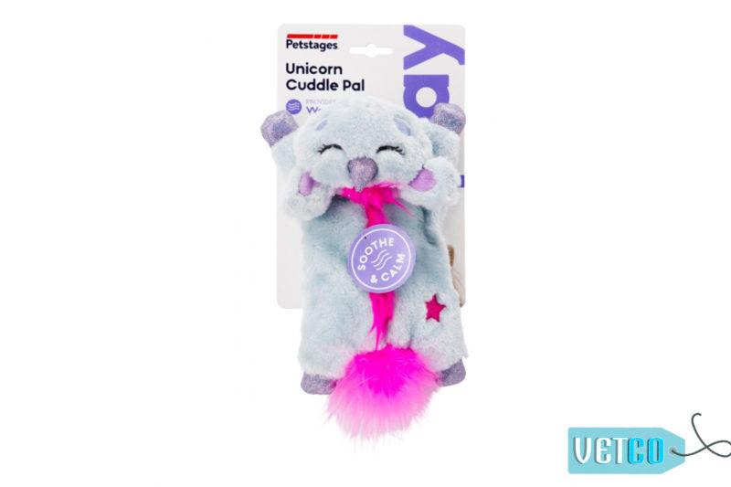 Petstages Unicorn Cuddle Pal Cat Toy