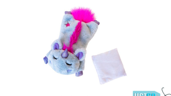 Petstages Unicorn Cuddle Pal Cat Toy