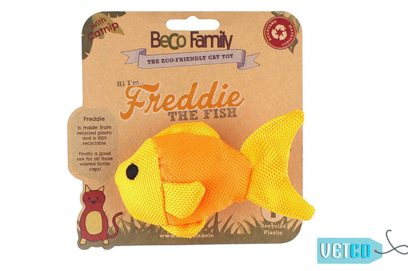 Beco Pets Freddie The Fish Cat Toy